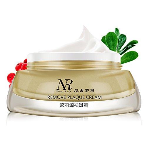 Shouhengda Remove Freckle Speckle Peels Dark Spot Face Facial Skin Whitening Cream ()