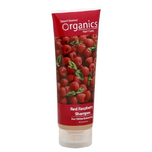 Case Shampoo Ounce 8 - Desert Essence Organic Red Raspberry Shampoo, 8 Ounce - 6 per case.