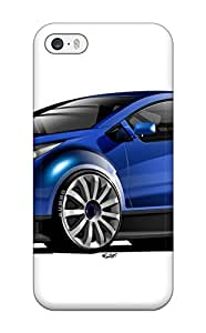 Fashionable XftzayT1355NIFxZ Iphone 5/5s Case Cover For Chevrolet Concept Blue Black Reflection Ultra Wtcc White Cars Other Protective Case