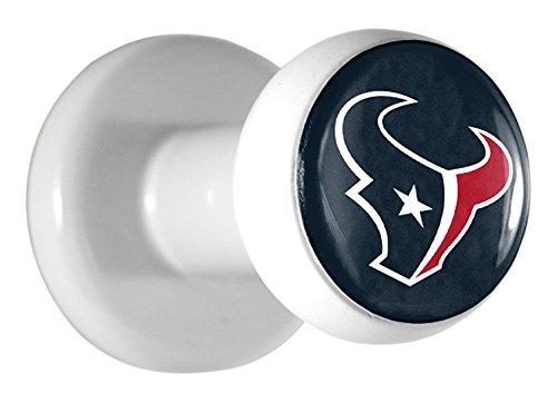 Team ProMark NFL Houston Texans Hat Pegs, Blue, 1.5
