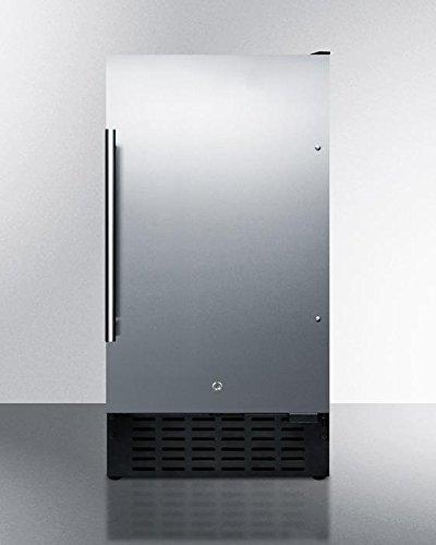 Summit FF1843BSSADA Refrigerator, Stainless (Summit Stainless Steel Locks)