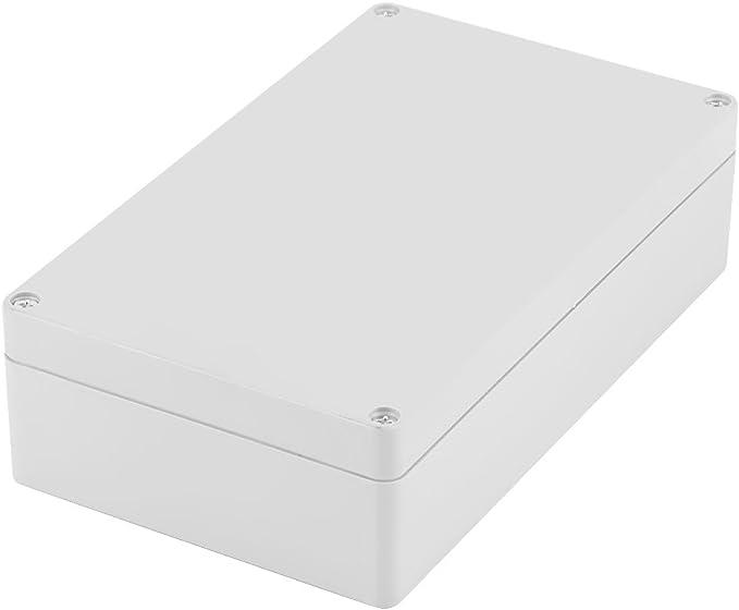 Caja de conexiones, Akozon caja de conexiones del cableado del caso del recinto del proyecto del ABS IP65 resistente al agua 200 * 120 * 56mm: Amazon.es: Iluminación