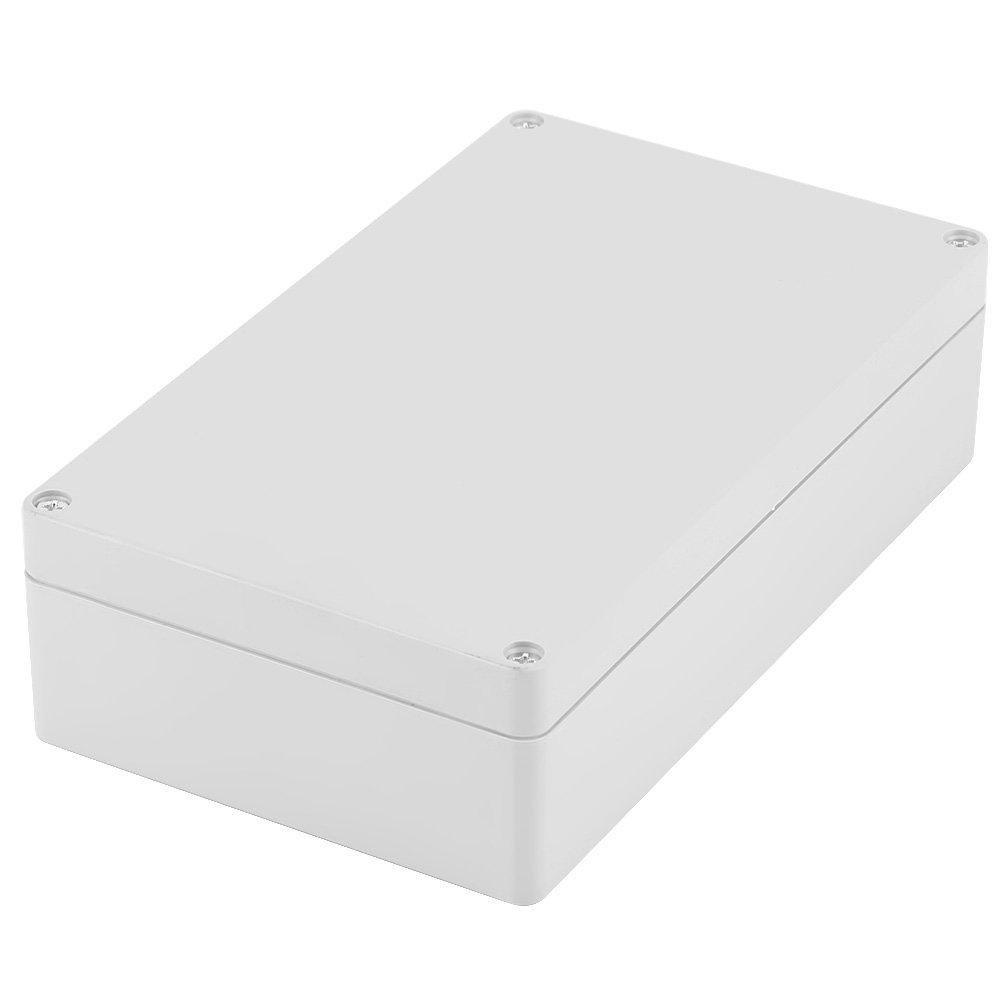Akozon Scatola Derivazione, Scatola di Giunzione di Potenza IP65 Impermeabile Cablaggio di Caso di Protezione ABS Resistente all'acqua 200 * 120 * 56mm