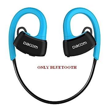 Auriculares deportivos EMEBAY con Bluetooth 4.1, IPX7 impermeable, inalámbrico, para correr, natación, buceo, Dacom P10 azul: Amazon.es: Electrónica