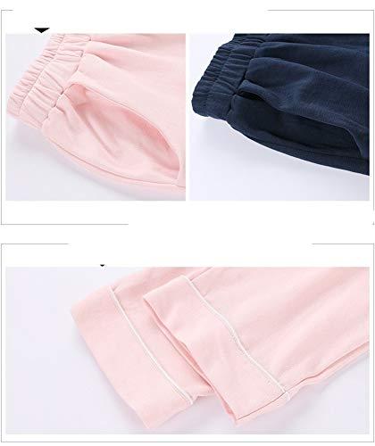 Manga Conjunto Cardigan A Algodón Xl Larga 100 De Solapa Pantalones Domicilio Invierno Mujer Servicio L Baujuxing Algodón Pijamas Otoño zYPHF