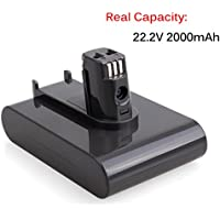 JJYDCGJ Replacement Battery Pack 22.2V 2000mAh Lithium Ion Backup Battery for Dyson DC31 DC34 DC35 DC44 (Not Fit Type B, DC44 MK2) 917083-01 Handheld Vacuum Cleaner (1 pack)
