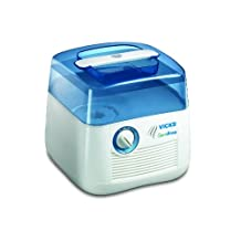 Vicks GermFree Cool Moisture Humidifier - Eliminates 99.9% of Bacteria, Mould, Fungus and Virus in the Water
