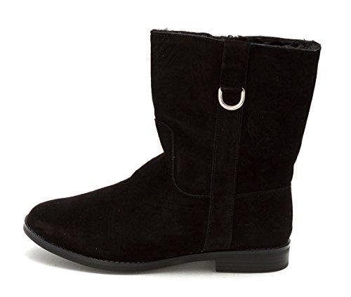 Alfani Womens Ancona Leather Closed Toe Mid-Calf Fashion Boots, Black, Size (Ancona Leather)