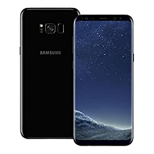 Samsung Galaxy S8 Plus (S8+) (SM-G955FD) 4GB RAM / 64GB ROM 6.2-Inch 12MP 4G LTE Dual SIM FACTORY UNLOCKED - International Stock No Warranty (MIDNIGHT BLACK)