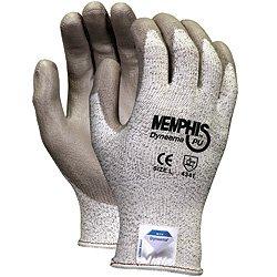 (12 Pair) Memphis 9672 Dyneema Nylon/Spandex Blend Gloves, Size Medium