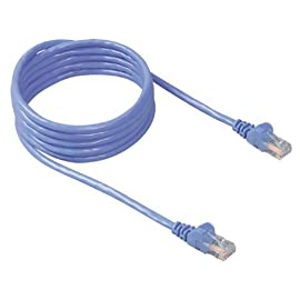 Belkin CAT5e 3-Feet Cat 5E Network Cable 4 High-bandwidth capacity accommodates streaming video and other memory-intensive applications Provides standard CAT5e network connection Perfect in conjunction with 10 and 100 Base-T networks