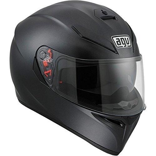 AGV K3 SV Motorcycle Helmet Matte Black Medium - DOT-Approved ()