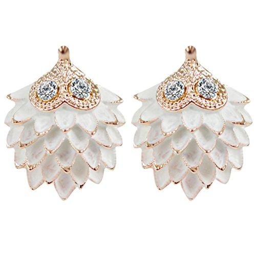 Redvive Fashion Women Pure Retro Earrings Hedgehog