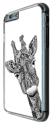 613 - Aztec Giraffe Face Design iphone 6 6S 4.7'' Coque Fashion Trend Case Coque Protection Cover plastique et métal