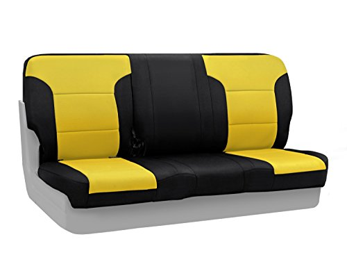 CoverKing Rear Custom Fit Seat Cover for Select Chevrolet...