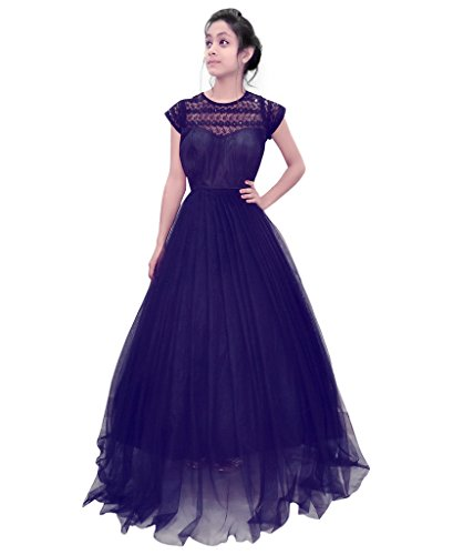 Net Long Gown - 7