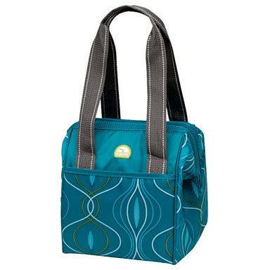 Igloo Leftover Tote Abstract, Teal
