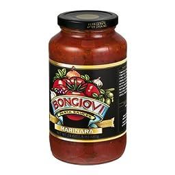 Bongiovi Marinara Pasta Sauce, 24 Ounce -- 6 per case.