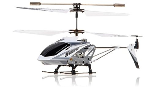 Syma S107G 3 Channel RC Radio Remote Control Helicopter with Gyro – White