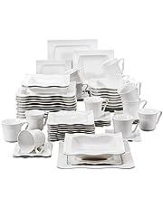 XWOZYDR 30/60 stuk porselein servies instellen met 12 * cups, schotels, diner soep dessert platen servies ingesteld voor 12 personen