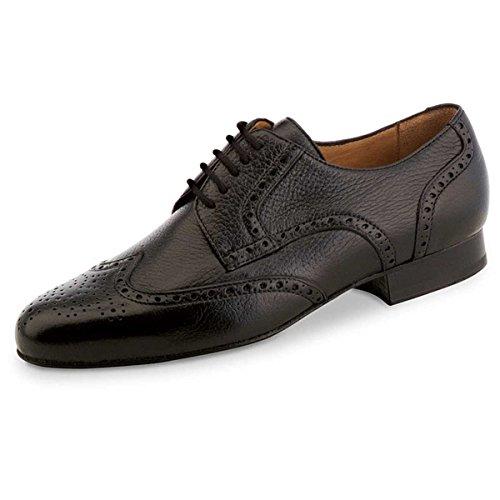 Werner Kern–Hombre Zapatos de baile 28024–ciervo piel negro