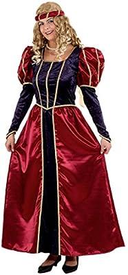 Disfraz de la Edad Media Burgfräulein - vestido de reina medieval ...
