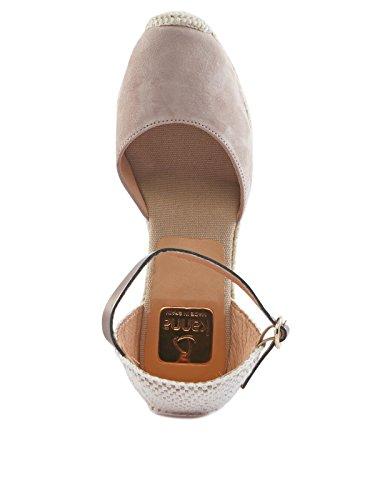 Kanna Mujer sandaletten marrón claro