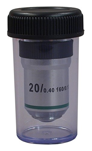OMAX 20X Achromatic Objective Lens for Compound Microscopes by OMAX