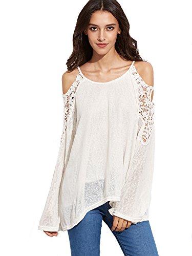 Verdusa Womens Shoulder Crochet Casual product image