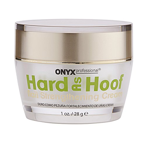 2 Pack Hard As Hoof Nail Strengthening Cream with Coconut Scent Nail Strengthener and Nail Growth Cream, 1 oz