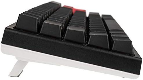 RGB LED Ducky ONE 2 SF Gaming Tastatur schwarz DE-Layout MX-Speed-Silver