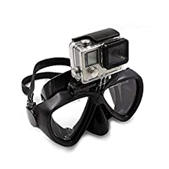 Silicone Diving Glass With Detachable Screw Mount Diving Mask Swimming Goggles For Sports Camera GoPro HD Hero 2 3 3+ 4 5 6 7,4 Session,5 Session,DJI Osmo Action,Xiaomi Yi 4K,Eken The Mask's built in camera mount offers divers a great way to ...
