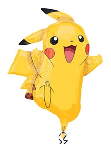 Pokemon Super Shape Foil Balloon - Pikachu