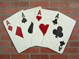Playing Cards Deck Poker Room Decor Poker Room Sign Game Room Decor Man Cave Wall Art Casino Theme Party Man Cave Decor Poker Player Gift