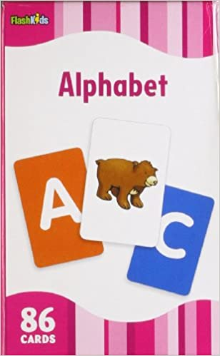 Alphabet Flash Kids Flash Cards Flash Kids Editors 9781411434912