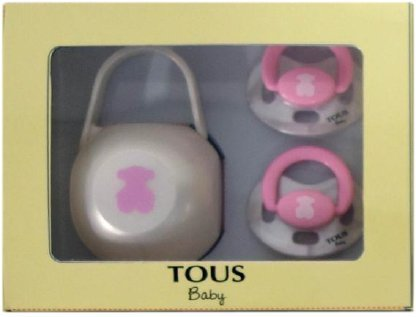 Tous Baby Set 2 Chupetes + Portachupetes Ref. BEAR-302 Color ...