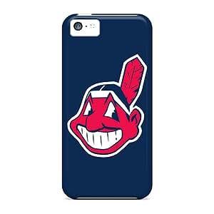 Defender Case For Iphone 5c, Cleveland Indians Pattern