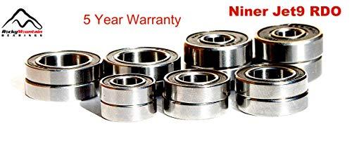 - Niner Jet 9 RDO Frame Pivot Bearing Kit 2012 2013 2014 2015 2016