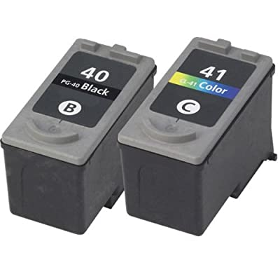 2 PACK For Canon PG-40/CL-41 Ink Combo For PIXMA MX300 MX310 FAX JX210P Serie