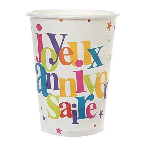 Atmosphera-vaso 20 decorativas para cumpleaños texto en ...