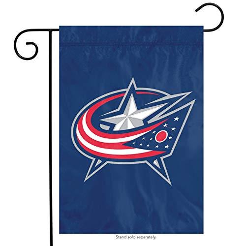 Party Animal Columbus Blue Jackets Licensed NHL Garden/Window Flag Hockey 10.5