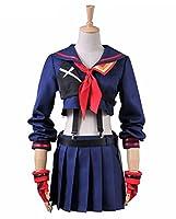 Xiao Maomi Girl Cosplay School Uniform Dress Womens Costume Full Set