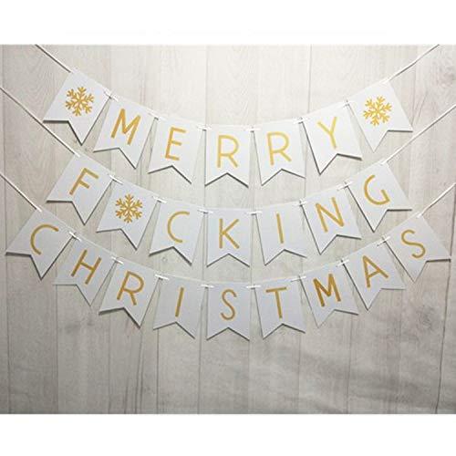 Merry Christmas Banner - Christmas Banner -Christmas Bunting