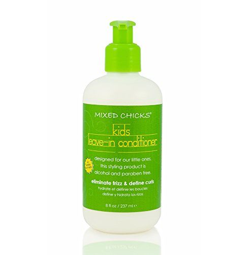 Mixed Chicks Leave In Conditioner (Mixed Chicks Kids Leave-In Conditioner - Eliminate Frizz & Define Curls, 8 fl.oz.)