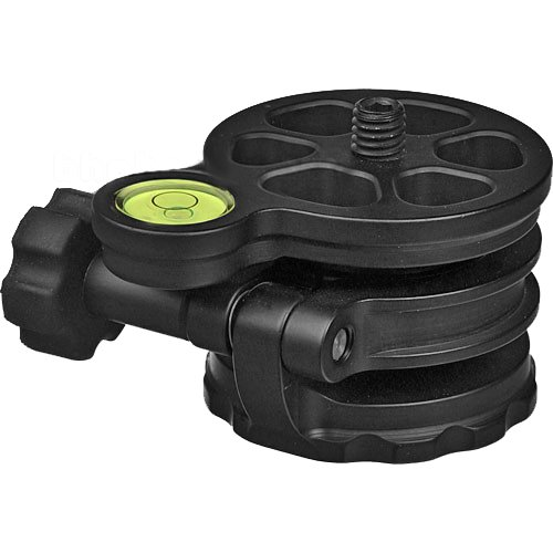 Acratech Leveling Base, Fits All Standard 3/8-16 Tripod Heads by Acratech