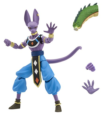 Dragon Ball Super Dragon Stars Poseable Figures Beerus