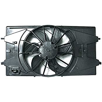 AC A//C Radiator Condenser Cooling Fan for Pontiac Chevy G5 Cobalt 2.4L