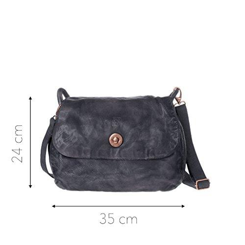 Dudu - Sac porté épaule - 580-1092 Timeless - Bag - Noir Slate - Femme