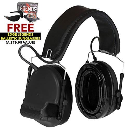 Peltor MT17H682FB-09 SV Swattac Hearing Defender Tactical Ba