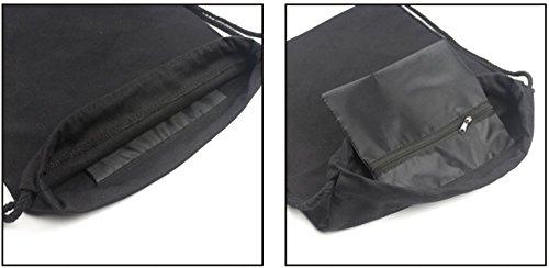 cba002275352 Kpop BTS Bangtan Boys Drawstring Bags BTS New Logo Backpack Shoulder ...
